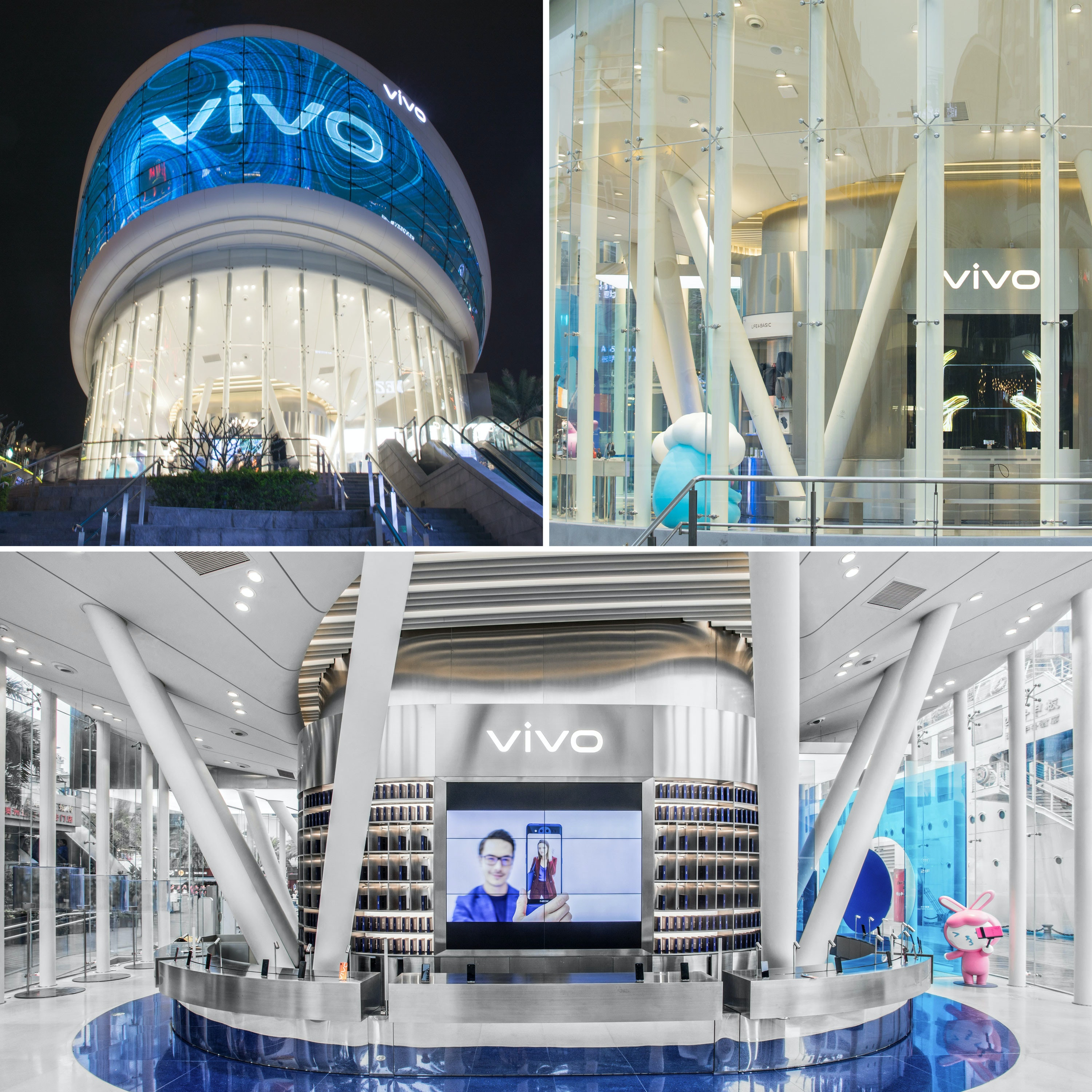 Vivo Concept Store Collage